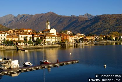 Italie, Piémont, lac Majeur, Baveno, Zone Méditerranéenne, Province de Verbano-Cusio Ossola, Regione dei laghi piemontesi - Feriolo