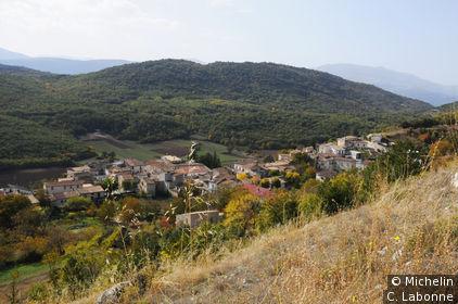 Bominaco vue depuis le château