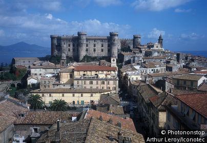 Italy, Lazio, Bracciano. Orsini Odescalchi castle