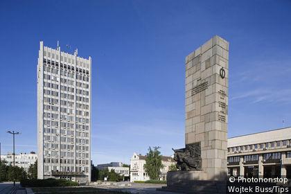 Bulgaria, Vidin, Bdntsi square