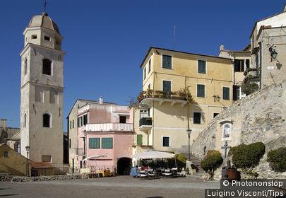 Italy, Liguria, Cervo.