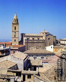 Italie, Abruzzes, Chieti, Zone Méditerranéenne, Province de Chieti - The cathedral