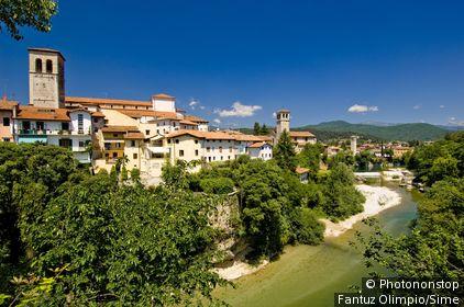 Italie, Frioul-Vénétie-Julienne, Cividale del Friuli, Zone Méditerranéenne, Province de Udine -