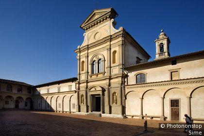 Italie, Toscane, Florence, Zone Méditerranéenne, Province de Firenze - Certosa del Galluzzo
