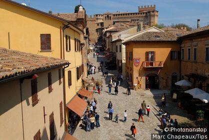 Italy, Marche, Gradara