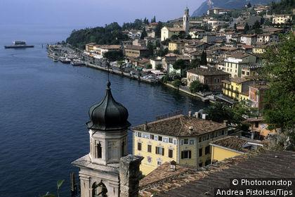 Italy, Lombardy, Garda lake, Limone del Garda