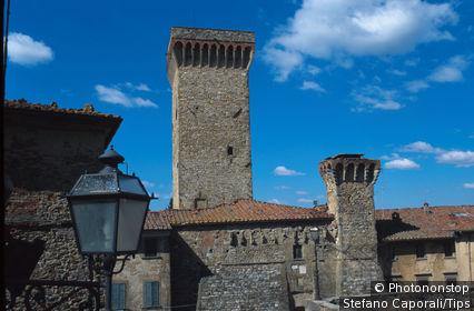 Italy, Tuscany, Lucignano, San Francesco