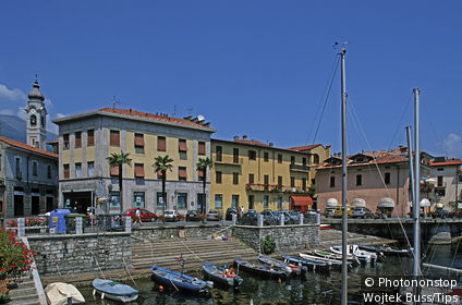 Italy, Lombardy, Como Lake, Menaggio, the harbour