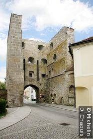 La porte fortifiée Böhmertor
