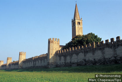 Italy, Veneto, Colli Euganei, Montagnana, fortified town