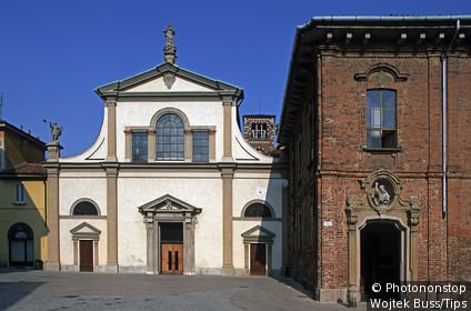Italy, Lombardy, Monza, Santa Maria in Carrobiolo church