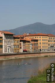 Le fleuve Agno traverse Pise.