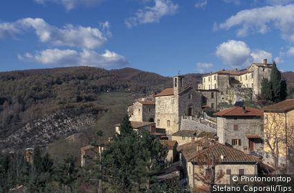 Tuscany, Poppi, Lierna Castle