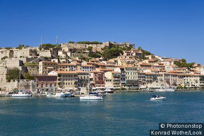 Portoferraio, Island of Elba, Italy