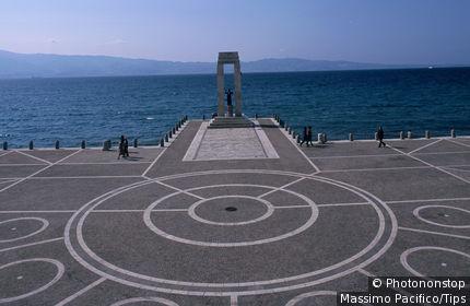 Calabria, Reggio Calabria, the promenade