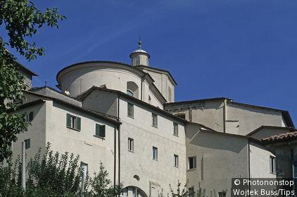 Italy, Lazio, Rieti.Church