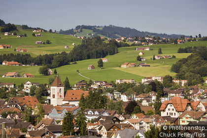 Switzerland, Appenzell, the village