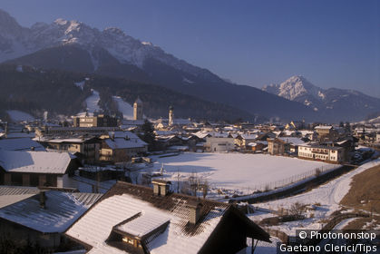 Italy, Trentino, Val Pusteria, San Candido