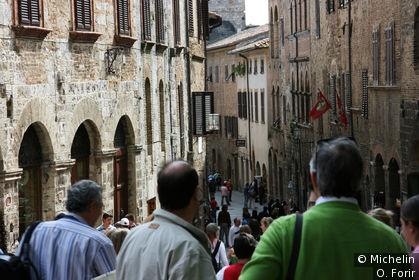 Dans la rue San Giovanni.
