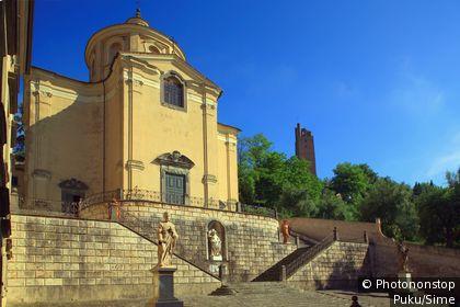 Italie;Toscane - Italy, Italia, Tuscany, Toscana, San Miniato town, Santissimo Crocifisso church