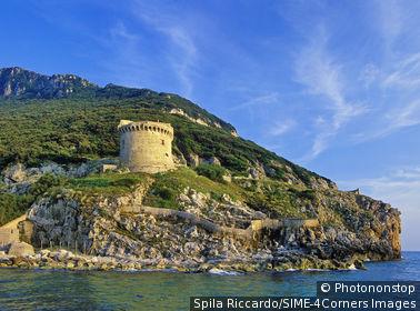 Italie, Latium, province de Latina, Sabaudia, Torre Paola
