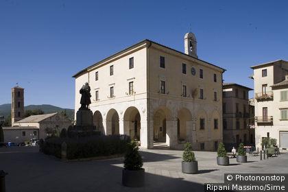 Italy, Tuscany, Sarteano