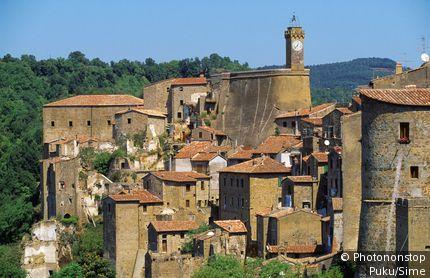 Italy, Tuscany, Maremma, Sorano