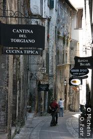 Dans la rue de Fonte Secca.