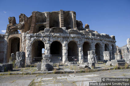 Italy, Campania, Santa Maria Capua Vetere, Amphitheatre Roman