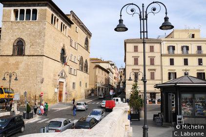 Rue principale de la vieille ville