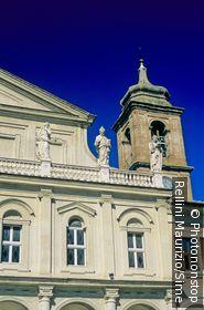 Italie;Ombrie;Terni - Italy, Italia, Umbria, Terni, Duomo, detail of the facade