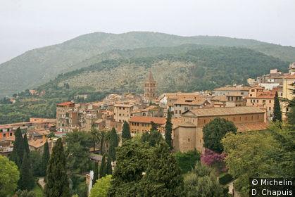 Tivoli depuis la Villa d'Este