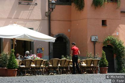 Sur la place G.Mazzini.
