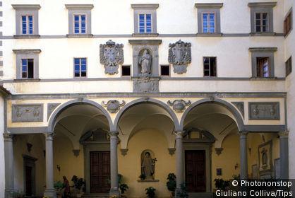 Tuscany, Vallombrosa Abbey