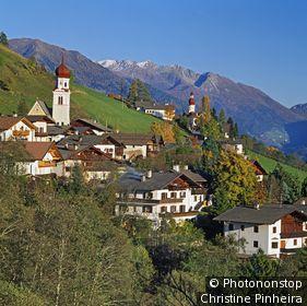 Italie, Trentin-Haut-Adige, Sudtirol, Zone Méditerranéenne, Alpes, Dolomites, province de Bolzano, Valle Isarco, Vipiteno - Val Ridanna (Ridnauntal)