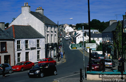Ireland, Republic of Ireland, Ulster, Ardara, Main street.