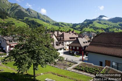 Suisse, canton de Vaud, Château-d'Oex