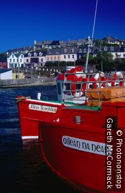 Boats in Baltimore Harbour. Baltimore, Munster,County Cork, Ireland,Republic of Ireland