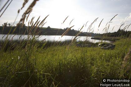 Fishing Dinghies, Lough Oughter, County Cavan, Ireland