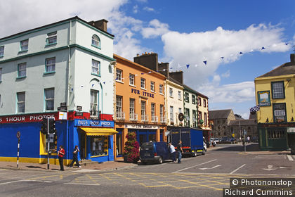Ireland, Republic of Ireland, Munster, Dungarvan, Grattan Square.