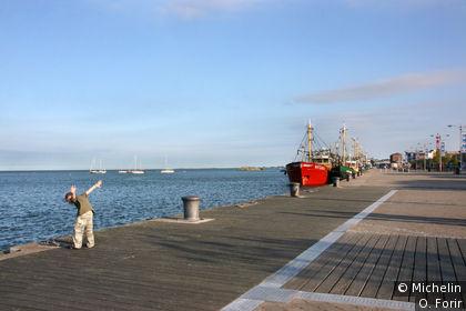 Le port.