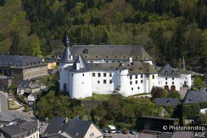 Luxembourg, château de Clervaux (12ème s.)