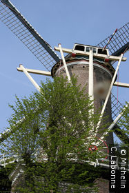 Un moulin le long de Hollandsche Ijssel