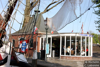 Rade sur les quais de Binnenhaven