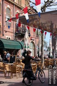 Terrasse dans la vieille ville