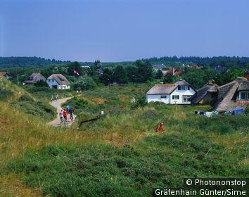 Pays-Bas, Friesland, îles de la Frise Occidentale, Benelux - Way near Schiermonnikoog