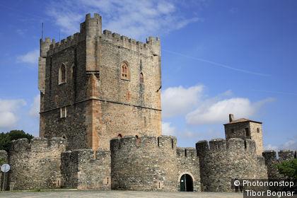 Portugal, Tras-os-Montes, Bragance, Citadelle, Tour de Menagem