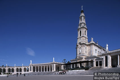 Portugal, Fatima, the church