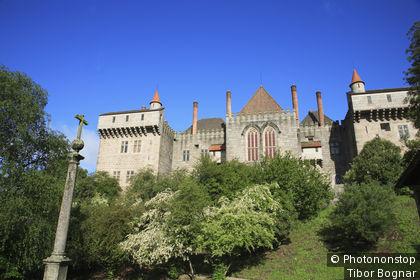 Portugal, Minho, Guimaraes, palais Paço dos Duques