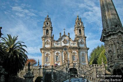 Portugal, Douro, Lamego, sanctuaire Nossa Senhora dos Remedios